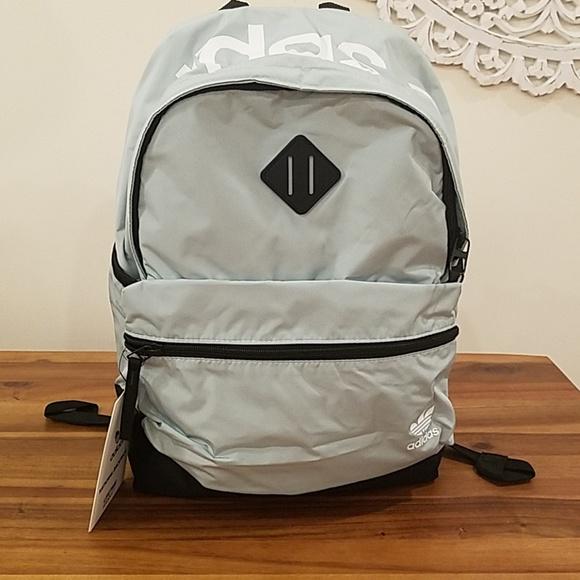 e11791666c032 Adidas originals backpack ash green